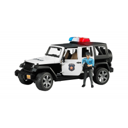 Bruder - Police-Jeep WRANGLER Unlimited Rubicon with accessories