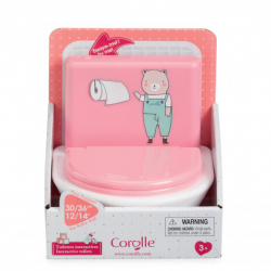 """Corolle INTERACTIVE PACIFIER for baby doll 14"""""""