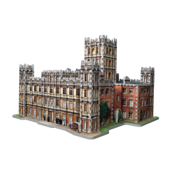 Wrebbit -Downton Abbey 3D Puzzle 890 pcs