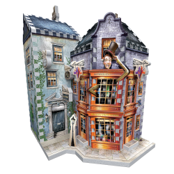 Wrebbit - Harry Potter - 3D puzzle 285 pcs- Weasley's Wizard Wheezes and Daily Prophet™