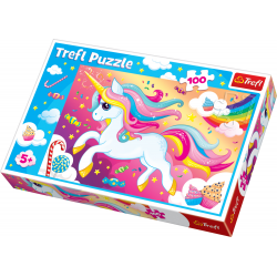 Trefl Puzzle 100 pcs Beautiful Unicorn