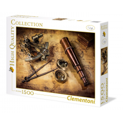 Clementoni Puzzle 1500 pc Course to the treasure
