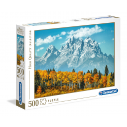 Clementoni Puzzle 500 pc Grand Teton in fall