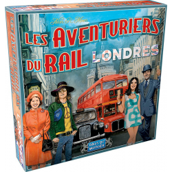 Days of Wonder - Les aventuriers du rail -Londres (FR)