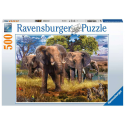 Ravensburger 500 pc Puzzle Elephants
