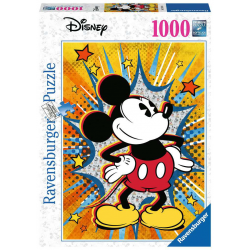 Ravensburger 1000 pc Puzzle Retro Mickey Mouse