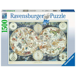 Ravensburger 1500 pc Puzzle Map of the World