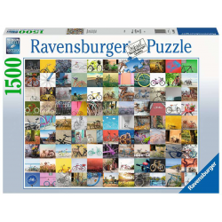 Ravensburger 1500 pc Puzzle 99 Bicycles