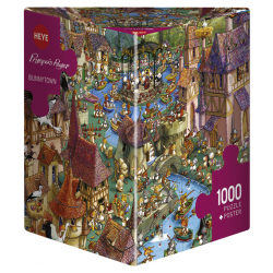 Heye Puzzle 1000 PC Bunnytown