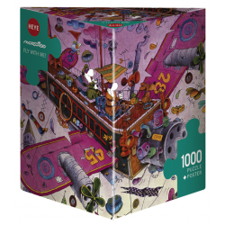 Heye Puzzle 1000 PC Fly with me