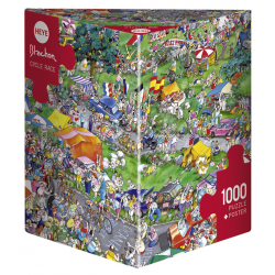 Heye Puzzle 1000 PC Cycle Race