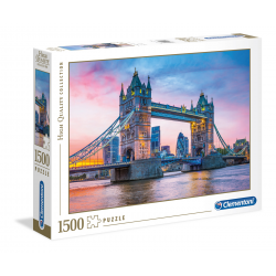 Clementoni Puzzle 1500 pcs Tower Bridge Sunset