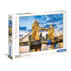 Clementoni Puzzle 2000 pcs Tower Bridge at Dusk