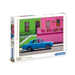 Clementoni Puzzle 500 pcs The Blue Car