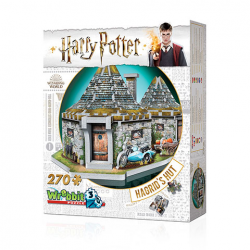 Wrebbit - Harry Potter Hutte d'Hagrid - puzzle 3D 270 pcs