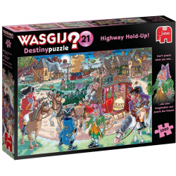 Wasgij Puzzle 1000 pcs Destiny 21 Highway Hold Up