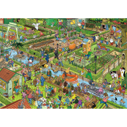 JVH Puzzle 1000 pcs The Vegetable Garden