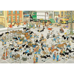 JVH Puzzle 1000 pcs The Cattle Market