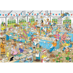 JVH Puzzle 1500 pcs Clash of the Bakers