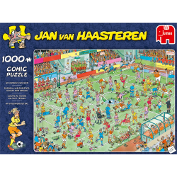 JVH Puzzle 1000 pcs WC Women's Soccer