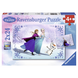 Ravensburger Disney Frozen - Sisters Always 2 X 24pc puzzle