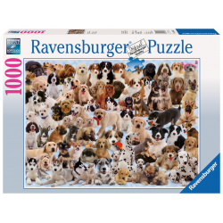 Ravensburger - Dog's Galore! Puzzle 1000 PC