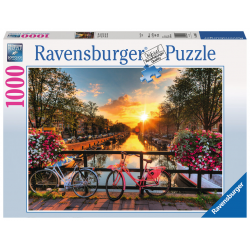 Ravensburger - Bicycles in Amsterdam Puzzle 1000 PC