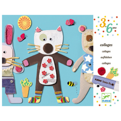 Djeco Collages for little ones - Little Animals